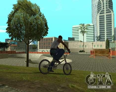 New HD Glen Park para GTA San Andreas sexta tela