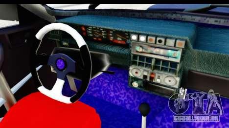 Dacia 1310 Berlina Tunata v2 para GTA San Andreas vista interior