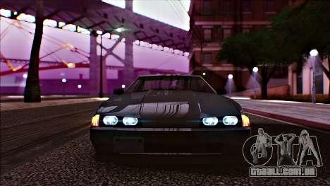 Elegy Drophead para GTA San Andreas traseira esquerda vista