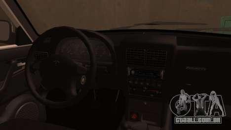 GAZ 3110 da série a Zona de exclusão de Chernoby para GTA San Andreas vista traseira