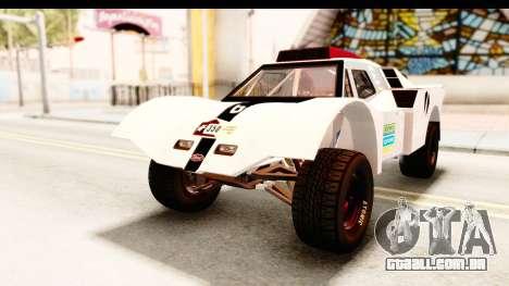 GTA 5 Desert Raid SA Lights para GTA San Andreas vista inferior