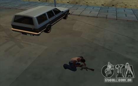 A posse de armas para GTA San Andreas segunda tela