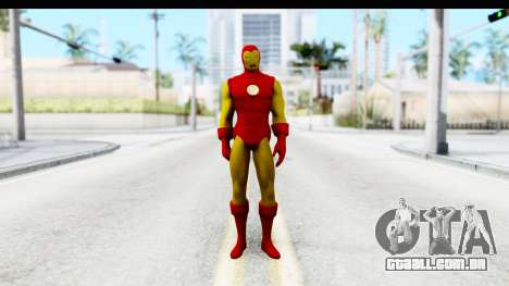 Marvel Heroes - Ironman para GTA San Andreas segunda tela
