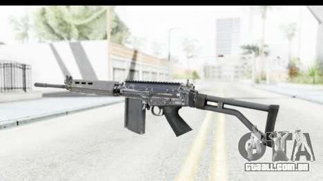 FN-FAL para GTA San Andreas segunda tela