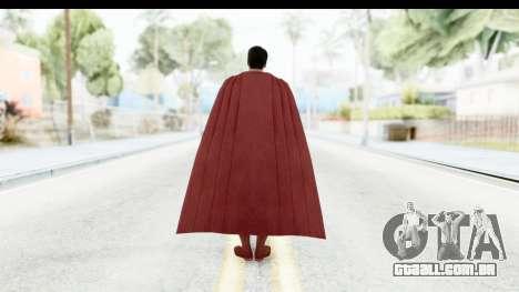 Injustice God Among Us - Superman BVS para GTA San Andreas terceira tela