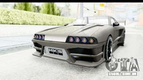 Elegy Sport Type v1 para GTA San Andreas traseira esquerda vista