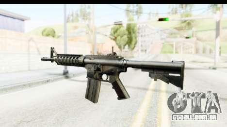 AR-15 para GTA San Andreas segunda tela