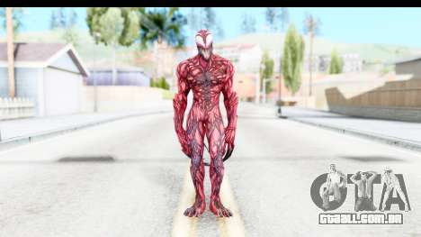 Marvel: Ultimate Alliance 2 - Carnage para GTA San Andreas segunda tela