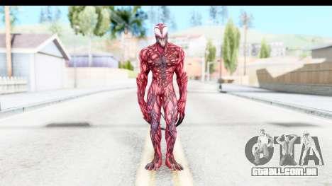 Marvel: Ultimate Alliance 2 - Carnage para GTA San Andreas segunda tela