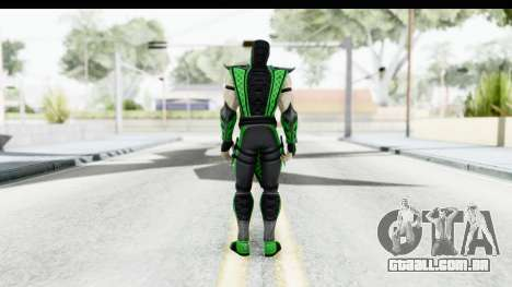 Mortal Kombat vs DC Universe - Reptile para GTA San Andreas terceira tela