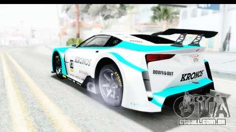 GTA 5 Emperor ETR1 v2 SA Lights para o motor de GTA San Andreas