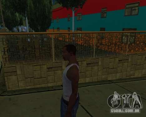 Armenian Jeferson para GTA San Andreas quinto tela