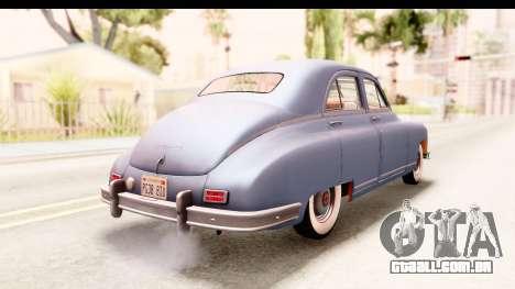 Packard Standart Eight 1948 Touring Sedan para GTA San Andreas esquerda vista
