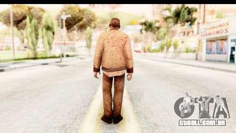 Left 4 Dead 2 - Zombie Rural para GTA San Andreas terceira tela