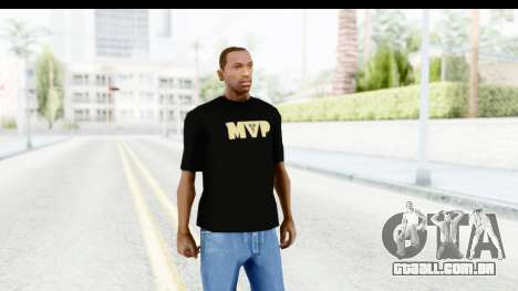 Nike MVP T-Shirt para GTA San Andreas