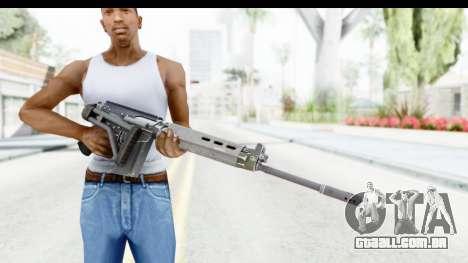 FN-FAL Folded para GTA San Andreas