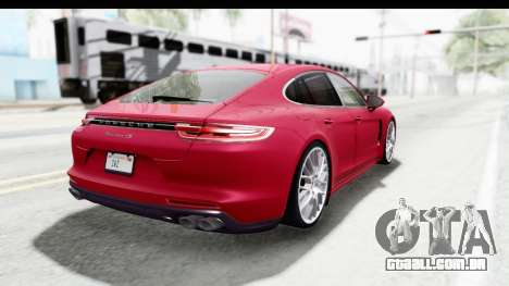 Porsche Panamera 4S 2017 v2 para GTA San Andreas vista direita