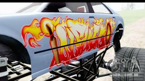 GTA 5 Enus Cognoscenti XL para vista lateral GTA San Andreas
