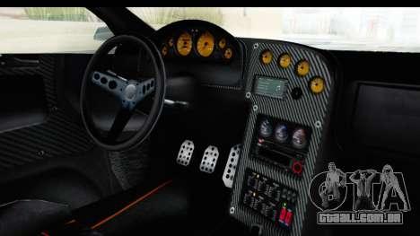 GTA 5 Pegassi Reaper v2 SA Lights para GTA San Andreas vista interior