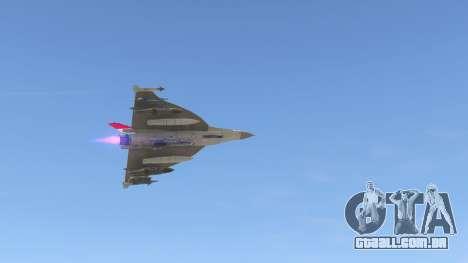 GTA 5 F-16XL USA nono screenshot