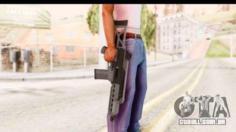 GTA 5 Vom Feuer Special Carbine para GTA San Andreas terceira tela
