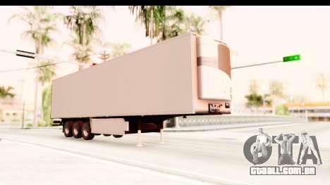 Trailer ETS2 v2 New Skin 2 para GTA San Andreas vista direita