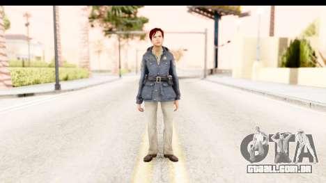 Silent Hill Downpour - Annie para GTA San Andreas segunda tela