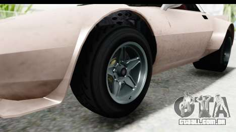 GTA 5 Lampadati Tropos SA Lights para GTA San Andreas vista traseira