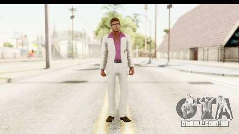 GTA Vice City - Lance Vance Remake para GTA San Andreas segunda tela