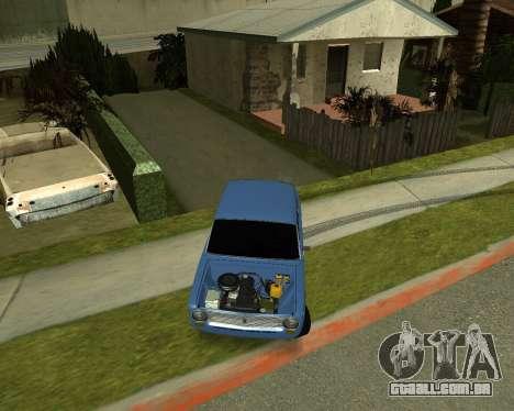VAZ 2101 Armenian para GTA San Andreas esquerda vista
