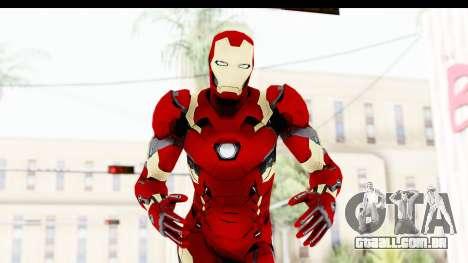Marvel Heroes - Ironman Mk46 para GTA San Andreas