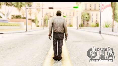 Left 4 Dead 2 - Zombie Pilot para GTA San Andreas terceira tela