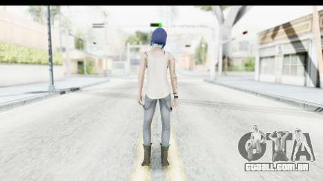 Life is Strange Episode 3 - Chloe Shirt para GTA San Andreas terceira tela