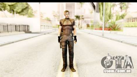 Resident Evil 4 Ultimate - Leon S. Kennedy para GTA San Andreas segunda tela