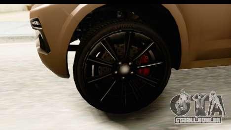 GTA 5 Benefactor XLS IVF para GTA San Andreas vista traseira