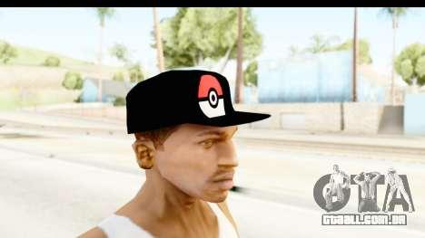 Cap Pokemon Pokeball para GTA San Andreas