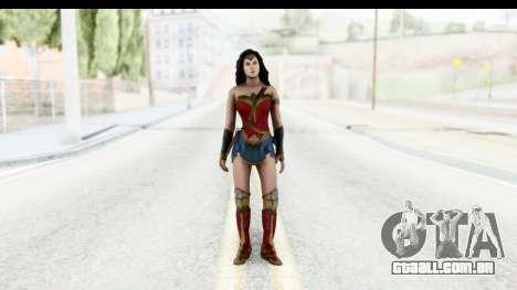 Injustice God Among Us - Wonder Woman BVS para GTA San Andreas segunda tela