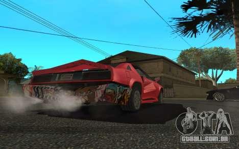 Buffalo (Tunning) para GTA San Andreas vista direita