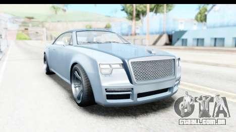 GTA 5 Enus Windsor Drop IVF para GTA San Andreas vista direita