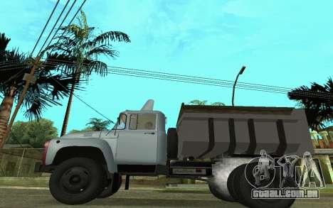 ZIL-130 Arménia para GTA San Andreas esquerda vista