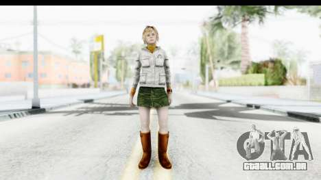 Silent Hill Downpour - Heather para GTA San Andreas segunda tela
