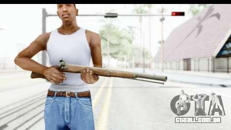 GTA 5 Musket para GTA San Andreas terceira tela