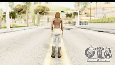 Helena Casual Skin para GTA San Andreas terceira tela