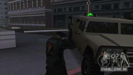 WantedLevel para GTA San Andreas terceira tela