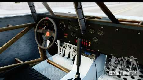 GTA 5 Trophy Truck SA Lights PJ para GTA San Andreas vista interior