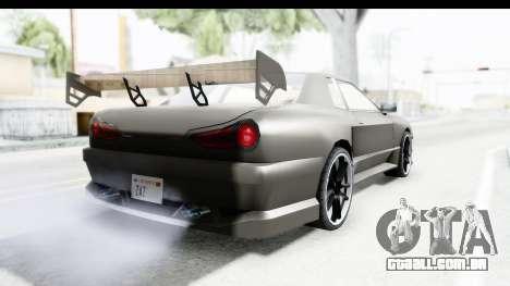 Elegy Sport Type v1 para GTA San Andreas vista direita