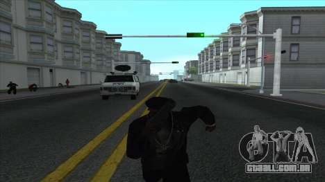 Newsvan Follow You para GTA San Andreas quinto tela