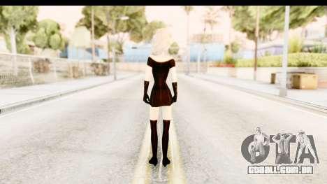 Elsa Old Fashioned para GTA San Andreas terceira tela