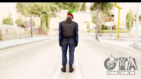 Bahrain Officer v2 para GTA San Andreas terceira tela