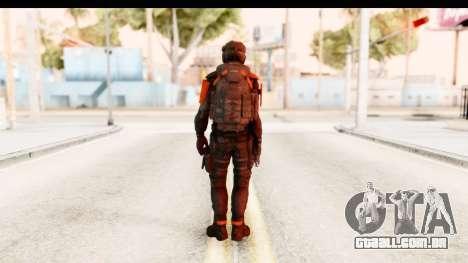 Homefront The Revolution - KPA v3 Black para GTA San Andreas terceira tela